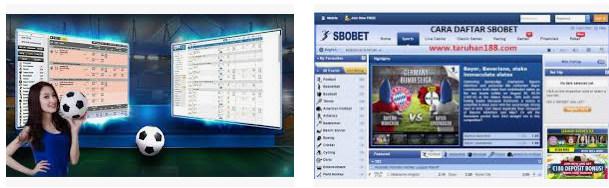 Aplikasi untuk daftar judi bola sbobet